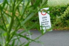 Einmal im Jahr gibt es  zum Hausturnier ein Sonderparkrecht auf  der Tannenwaldallee