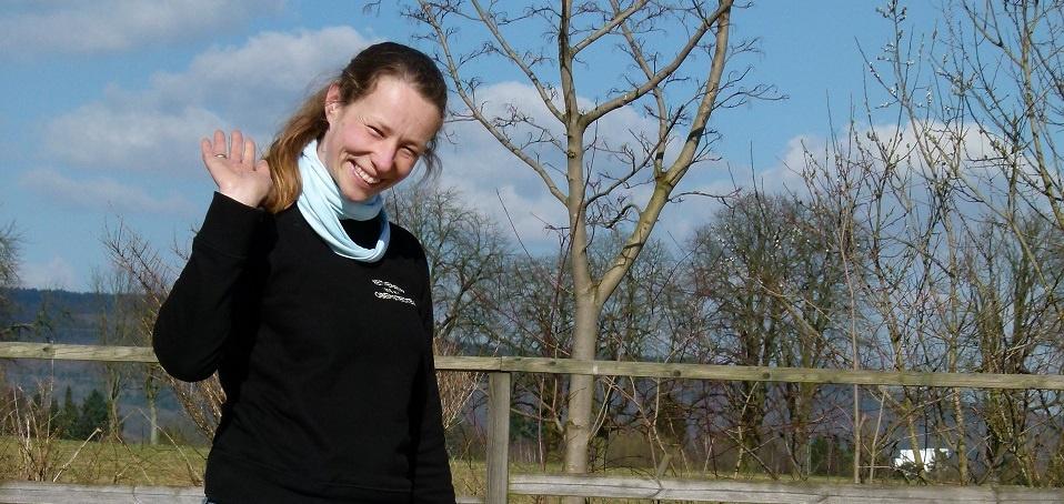 Immer freundlich, kompetent und beliebt: RVO-Reitlehrerin Julia Maaß