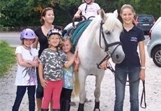 Der Umgang mit Pferden fördert die Persönlichkeit
